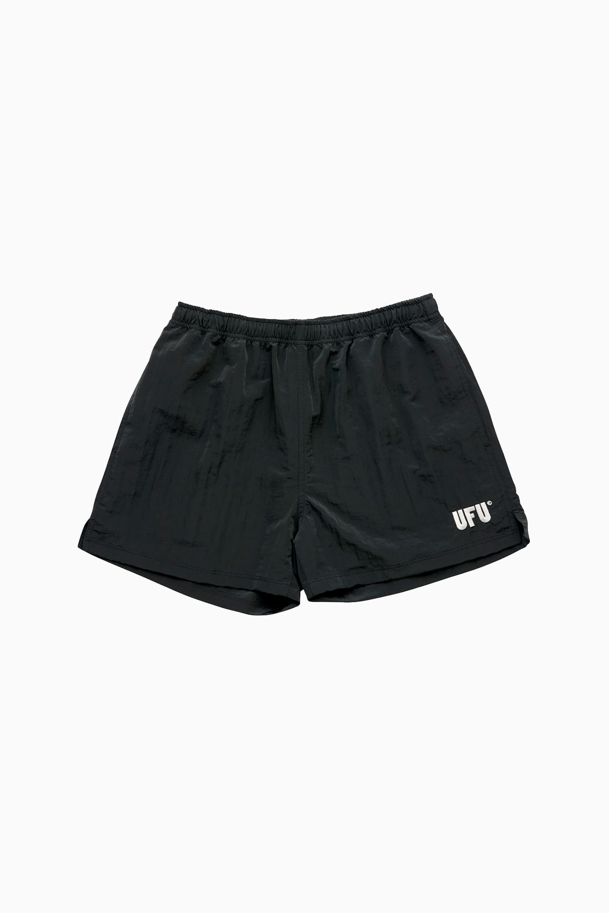 METAL SHORTS_DARK GREY