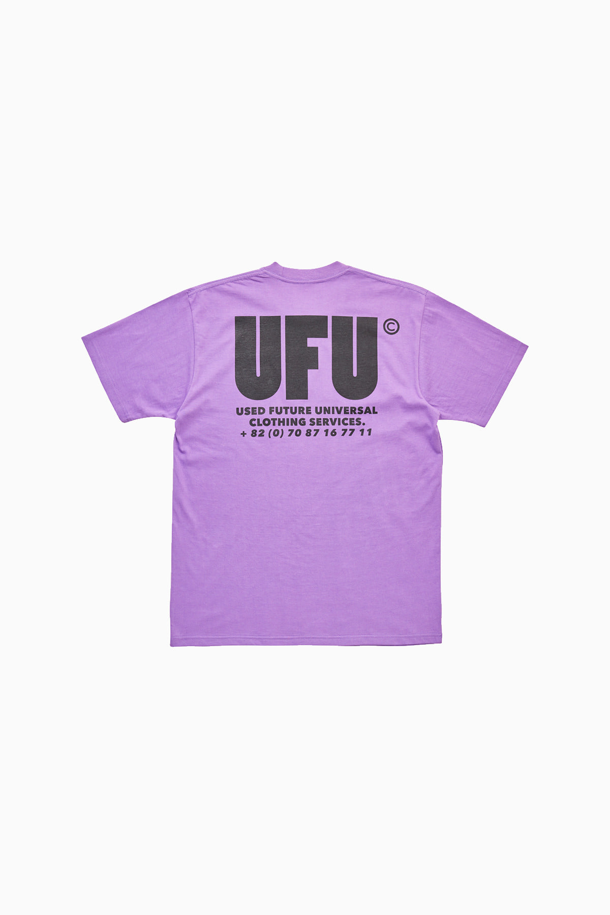 UFU AD T-SHIRT_PURPLE