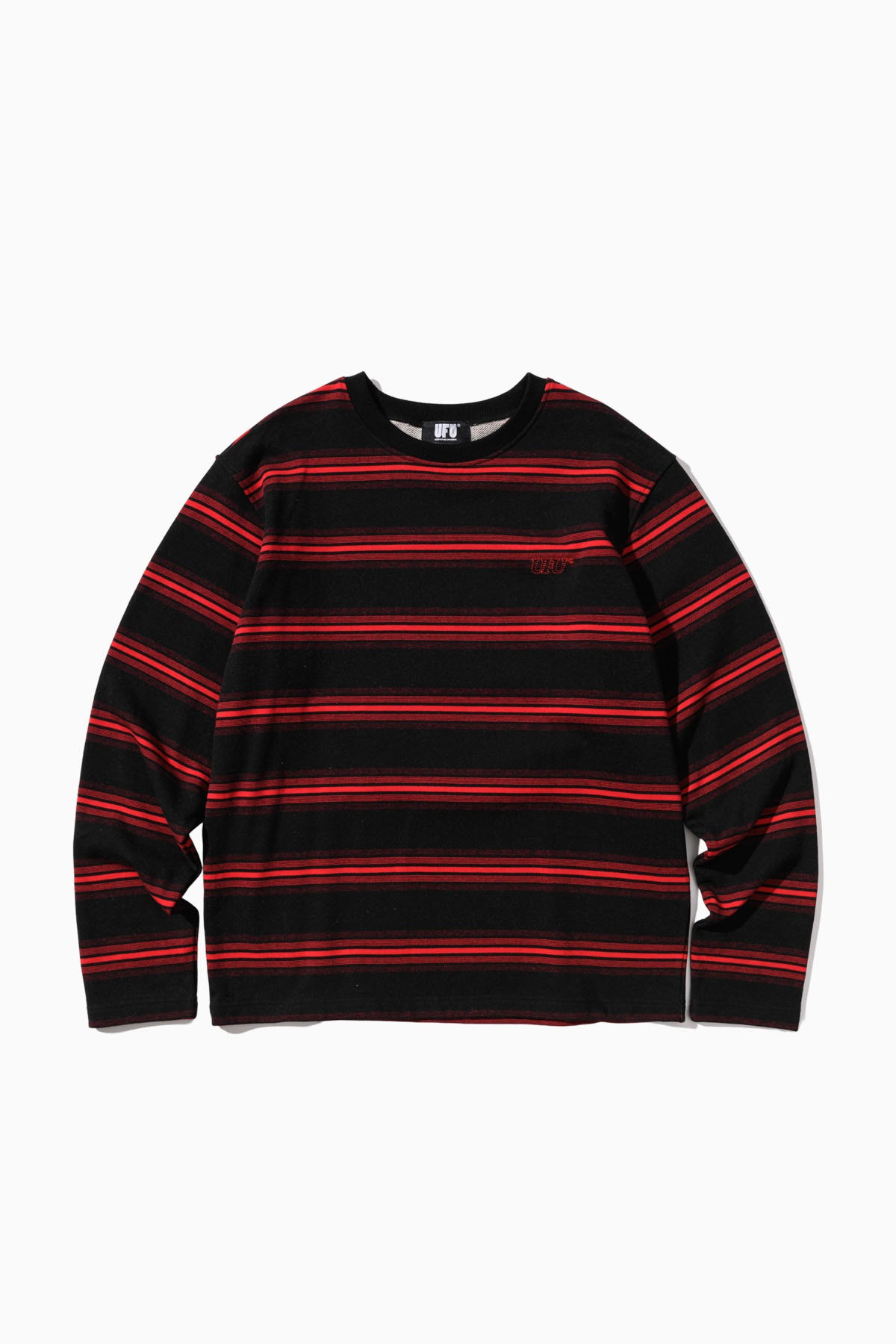 LS STRIPE T-SHIRT_BLACK