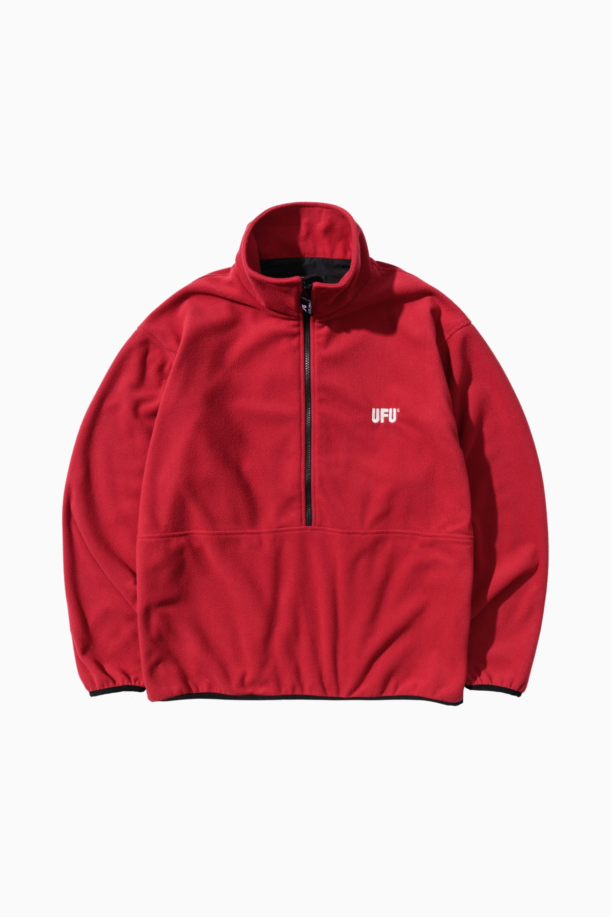 KEVIN ZIP-UP_BURGUNDY